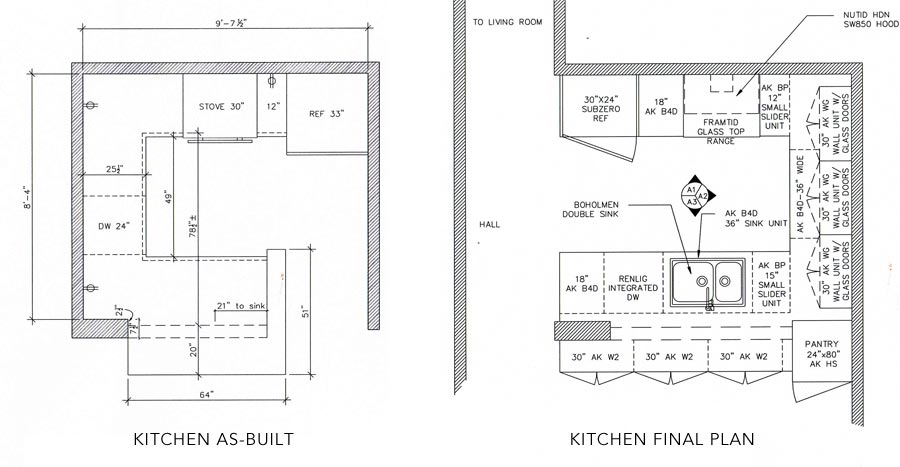 Chinese kitchen layout afreakatheart for Square kitchen layout